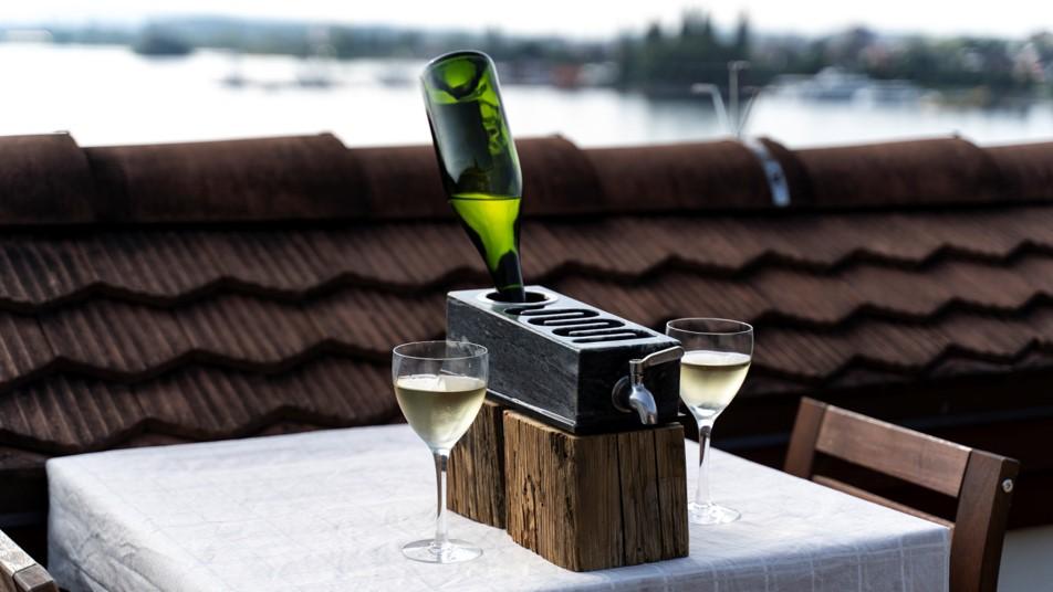 The Frevino wine stone launch